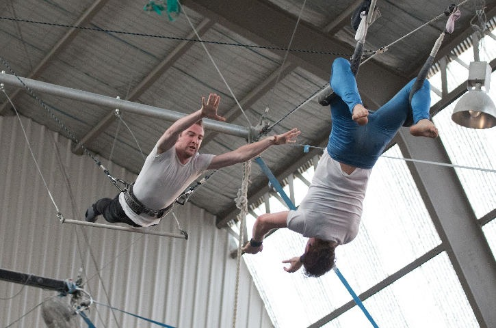 Flying Trapeze Student Catch
